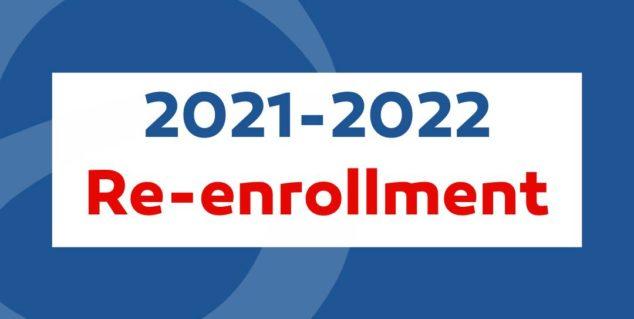Re-enrollment | Rematrícula 2021-2022